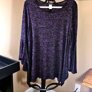 Olivia Blu Bell Sleeve Sweater